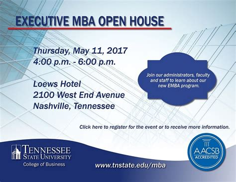 Tn Executibe Mba by Open House