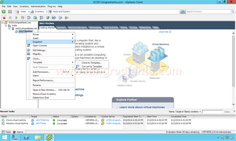 how to create vm template convert vm template using
