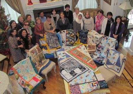 tutorial quilting indonesia united nations group makes new york themed quilts