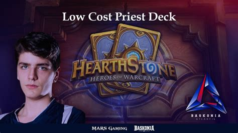 hearthstone deck low cost hearthstone low cost priest deck by