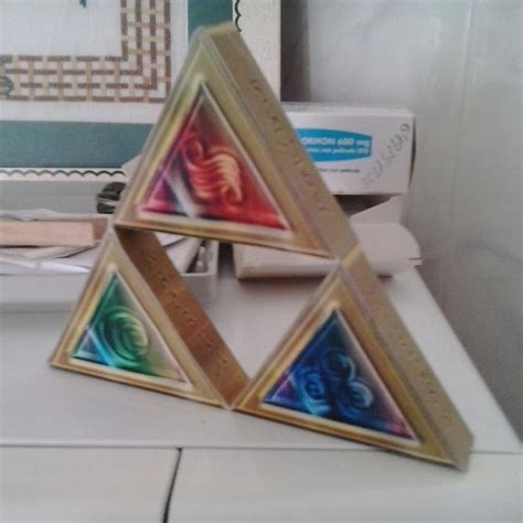 Triforce Papercraft - papercraft triforce by asiersempai on deviantart