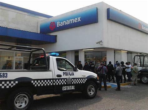 sucursales banamex reportan el noveno asalto a bancos en el puerto de
