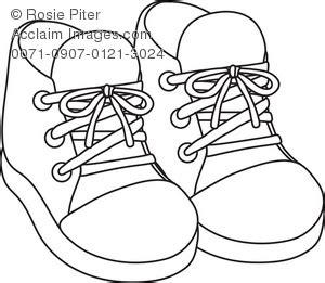 clip art illustration   outline   pair  baby