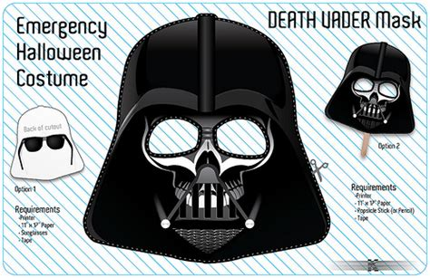 printable darth vader mask for elf on the shelf free emergency halloween costume download the full size