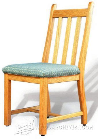 Dining Room Chair Plans Free Wooden Dining Chair Plans Image Mag