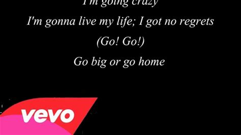 go big or go home american authors lyrics