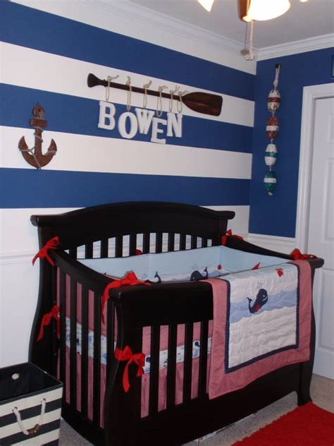 theme room names love the letters for the name in this nautical nursery