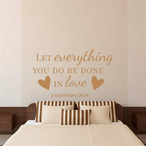 wall stickers bible verses bible verse quotes wall decal let from fabwalldecals on etsy