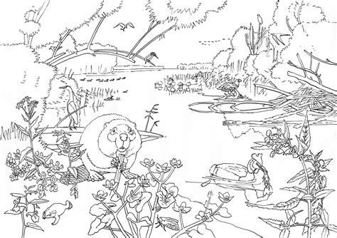 design wandlen met gratis zoekkaart naar buiten ark natuurontwikkeling