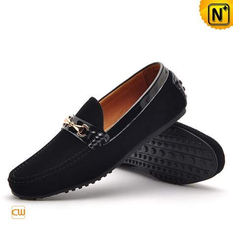 driving shoes suede leather driving shoes loafers for cw740122