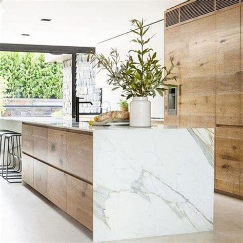 granite marble and zinc kitchen countertop trends 2017