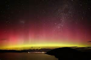 lights nz australis new zealand outer space