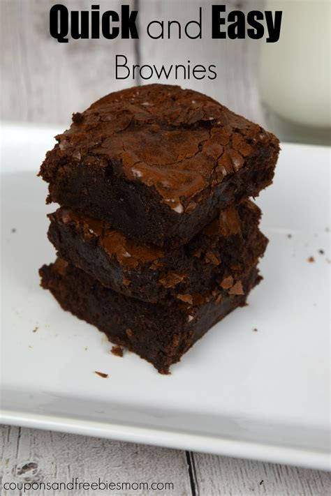 Earn Gift Cards Fast And Easy - quick and easy brownies best basic recipe from scratch