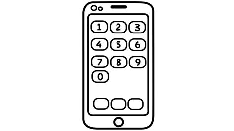 coloring page iphone how to draw iphone coloring pages for drawing and
