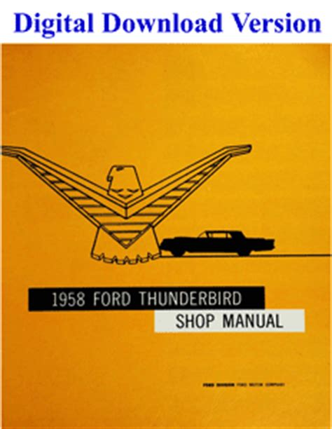 service repair manual free download 1972 ford thunderbird parental controls ford ford downloads factory repair manuals