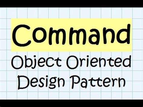 design pattern in java youtube command design pattern java tutorial youtube