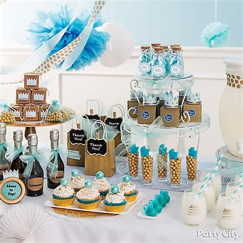 Prince Baby Shower Ideas by Prince Baby Shower Favor Table Idea City