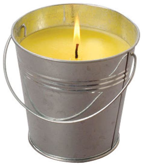 Garden Accents Citronella Candle Citronella Candle Contemporary Candles By