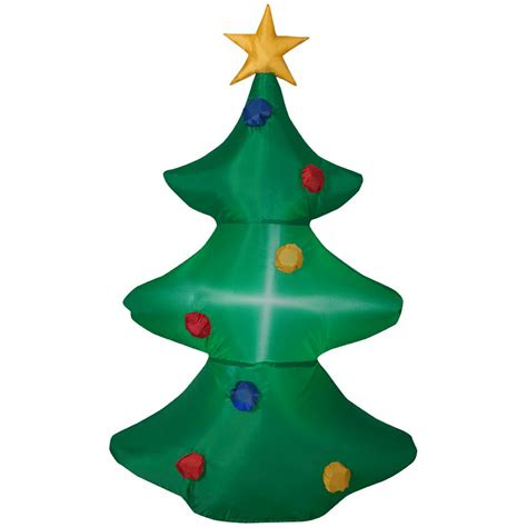 pre lit tree with twinkling lights home accents 6 ft pre lit led blue twinkling tree