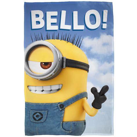 Power Bank Character Minions Bello 1 character official fleece blankets lego peppa pig trolls cars ebay