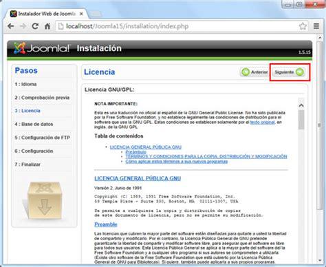 tutorial joomla spanish lecci 243 n 1 instalaci 243 n 1 swotster