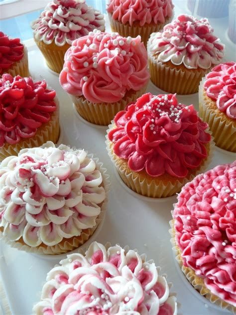 flower food pink flower cupcakes cutestfood com