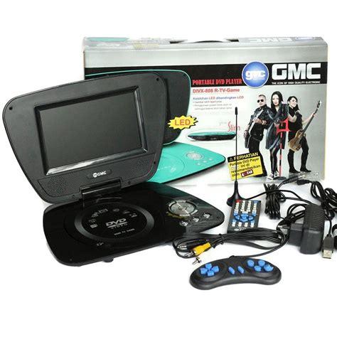 Tv Dan Dvd Portable 9 jual dvd tv portable gmc layar 9inci garansi 1th toko jawa e