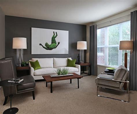 brown carpet  color walls living room contemporary
