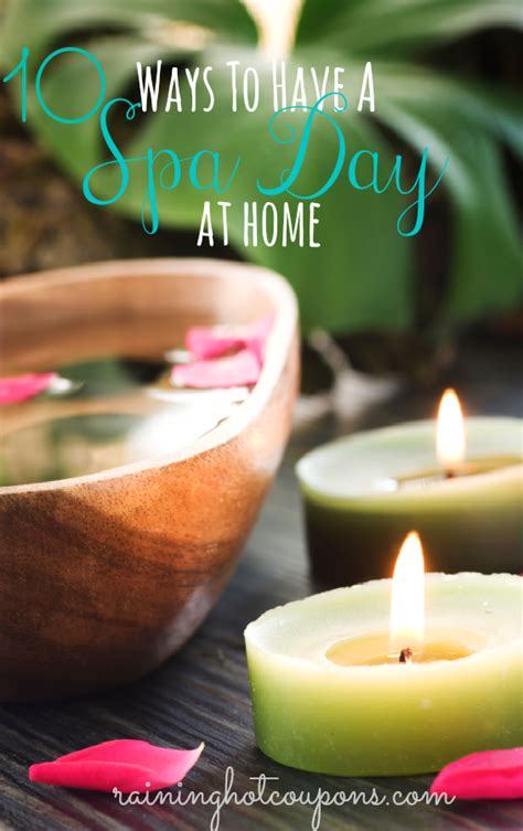 10 simple ways to a spa day at home