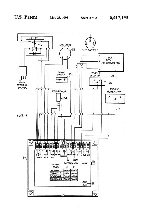 patent us5417193 engine speed control system and method