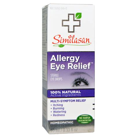 allergy eye drops for dogs iherb customer reviews similasan allergy eye relief sterile eye drops 0 33