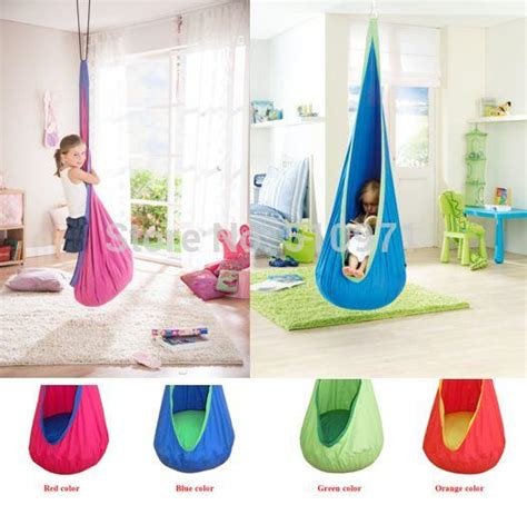 indoor hanging swing chair for kids online cheap baby swing children hammock kids swing chair