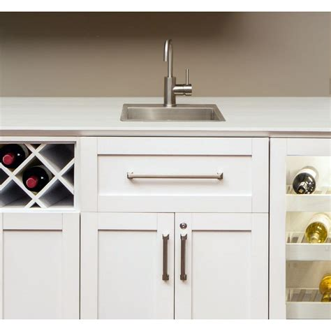 Home Bar Products Newage Products Home Bar Sink Kit In Stainless Steel 60804