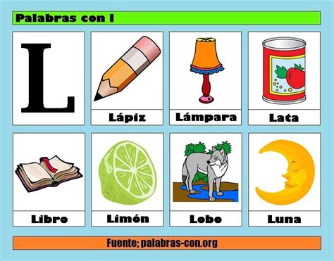 imagenes que empiecen con la letra bra palabras con l alfabeto abecedario pinterest