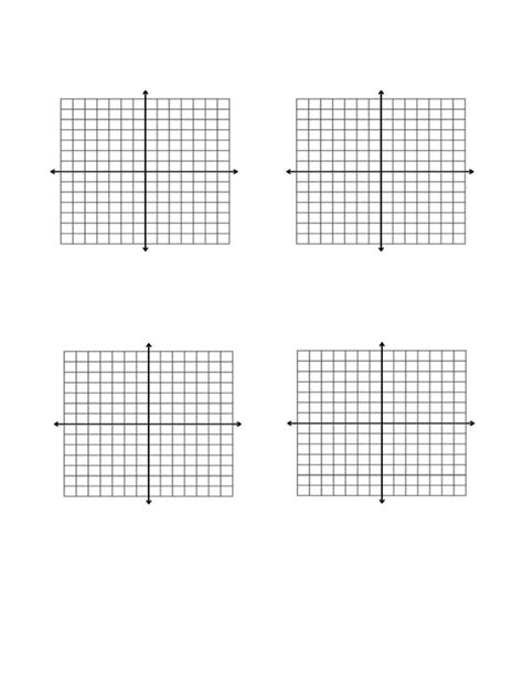 printable graph paper x and y axis graph paper with x and y axis and numbers 22 images x