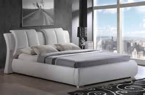 white platform bed with headboard traditional modern style white platform bed with headboard