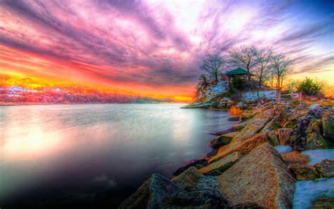 beautiful sunset wallpaper  beach wallpaperscom