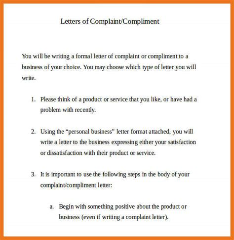 layout of grievance letter 2 3 formal letter layout complaint moutemplate
