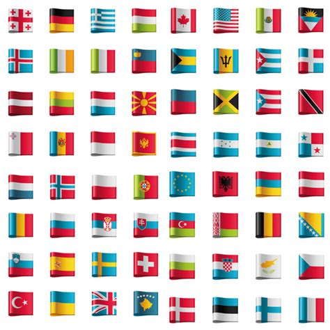 pirate rubber sts flags with labels
