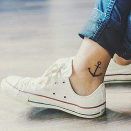 anchor tattoo on ankle 17 beste idee 235 n anker tattoeage enkel op