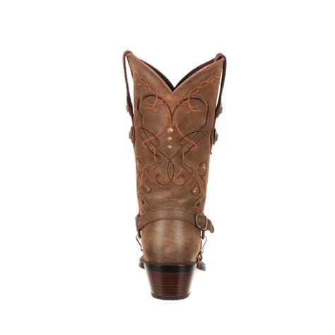 womens wide calf western boots crush by durango s wide calf concho western