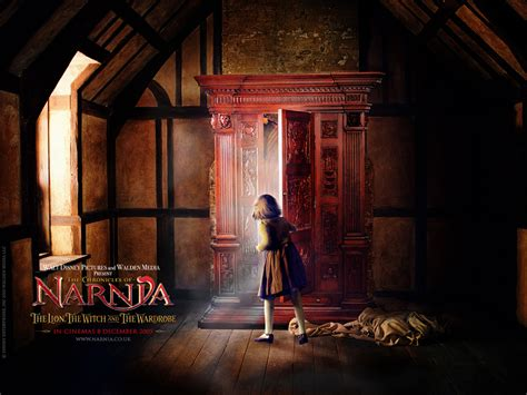 armadio narnia the wardrobe from the chronicles of narnia desktop