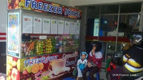 Freezer Buah menyeruput manis bisnis jus buah segar