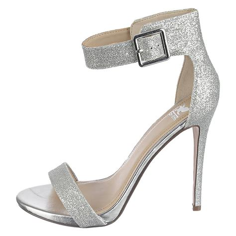 silver high heel shoe shiekh canter h s silver high heel glitter dress
