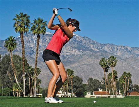 sandra gal golf swing q a sandra gal golf digest