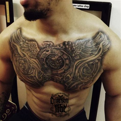 full chest tattoo 25 best ideas about chest tattoos on