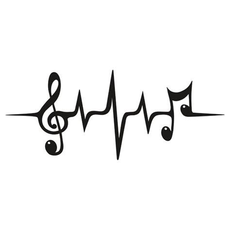 music pulse notes clef frequency wave sound dance