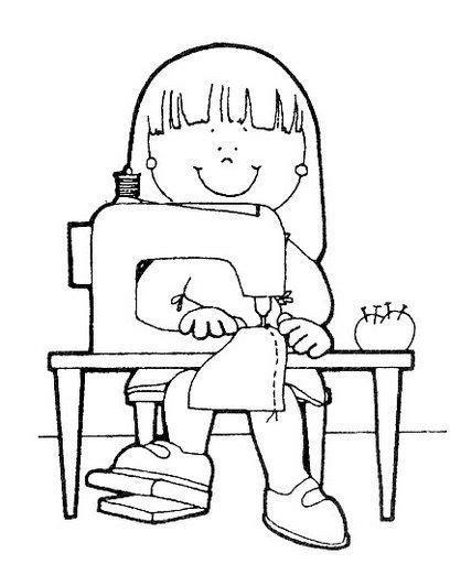 imagenes de niños trabajando matematicas para colorear dibujos para colorear de oficios para ni 241 os profesiones