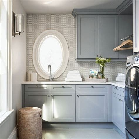 Painting Laundry Room Cabinets 25 Best Ideas About Grey Laundry Rooms On Pinterest Utility Room Inspiration Utility Room