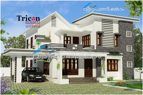 home design story online four bedroom 2355 sq ft modern kerala home design kerala